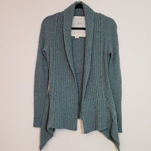 Anthropologie Sparrow Ribbed Open Front Cardi - XS